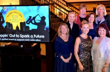 The Steppin' Out to Spark a Future Event Committee