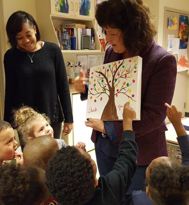 Adopt-a-Classroom Dedication