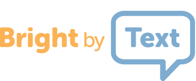 Bright by Text Logo